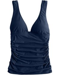 J.Crew Ruched Tank Top - Lyst