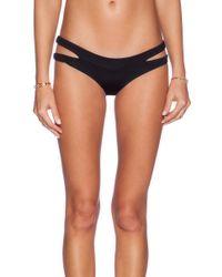 Lisa Lozano - Cut-Out Bikini Bottoms - Lyst