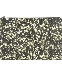 Givenchy Iconic Floral Print Pouch black - Lyst