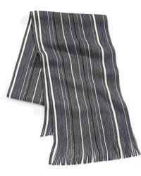 London Fog - Mini-stripe Scarf - Lyst