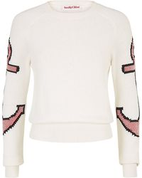 See By Chloé Anchor Knit Sweater - Lyst