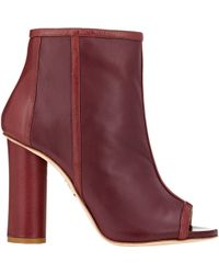 Maiyet Open-Toe Ankle Boots - Lyst