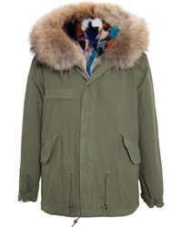 Mr & Mrs Furs Reversible Giovanna Fox Fur Lined Parka - Lyst