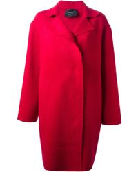 Lanvin Single Breasted Coat - Lyst