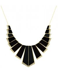 House Of Harlow Nouveau Necklace Black - Lyst