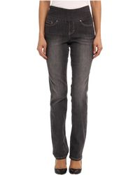 Jag Jeans Townsend Pullon Straight in Thunder Grey - Lyst
