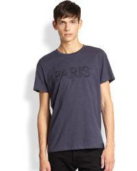 A.P.C. Paris T-shirt - Lyst