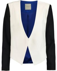 Michelle Mason - Color-block Poplin Jacket - Lyst