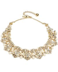 Kate Spade Cocktails And Conversation Swarovski Crystal Statement Necklace - Lyst