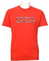 Stone Island | Print T-shirt | Lyst