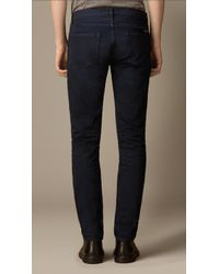 Burberry Shoreditch Naval Indigo Skinny Fit Jeans - Lyst