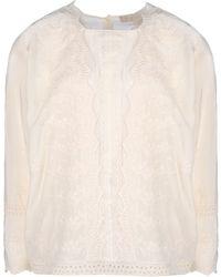 Vanessa Bruno Long Sleeve Shirt - Lyst