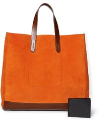 Pink Pony - Suede Tote - Lyst