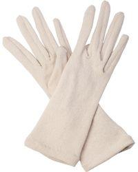 Cornelia James - Tabitha Pure Cashmere Gloves - Lyst