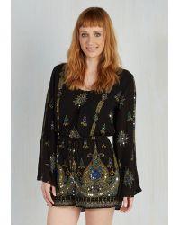 Anna Sui | Wind In Your Flair Romper | Lyst