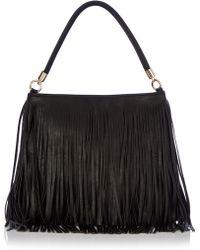 Oasis Tassled Shoulder Bag black - Lyst