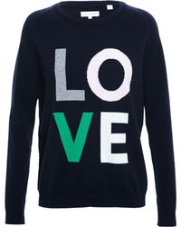 Chinti & Parker Wool-Cashmere Love Jumper - Lyst