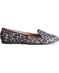 H&M Animal Loafers - Lyst