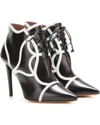 Tabitha Simmons Tinsley Leather Ankle Boots - Lyst