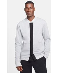 T By Alexander Wang Pique Bomber Jacket - Lyst