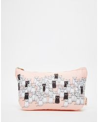 Paul & Joe - Asos Exclusive Cat Print Makeup Bag Hand & Skincare Set Hand Cream & Skincare Sachets - Lyst