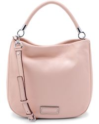Marc By Marc Jacobs Too Hot To Handle Hobo Bag - Cement - Lyst