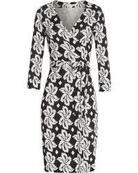 Diane von Furstenberg Silk Wrap Dress - Lyst