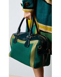 Burberry The Bee in Handpainted Leather with Patent Trim - Lyst