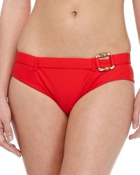 Shoshanna Belted Hipster Swim Bottom - Lyst