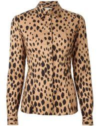 Fausto Puglisi Leopard Print Shirt - Lyst