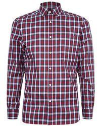 Aquascutum Devonshire Club Check Shirt - Lyst
