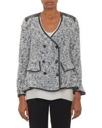 Thakoon Boucle Doublebreasted Cardigan - Lyst