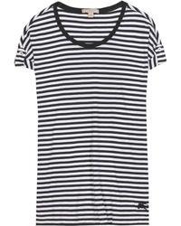 Burberry Brit - Striped Cotton Dress - Lyst