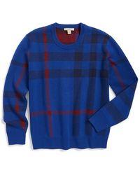 Burberry Brit - 'redbury' Crewneck Sweater - Lyst