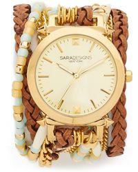 Sara Designs - Soleil Wrap Watch - Lyst