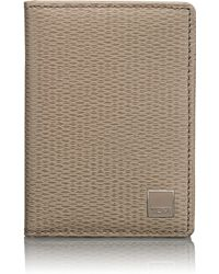 Tumi Monaco Gusseted Card Case - Lyst