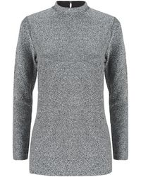 Reiss | Shimmer Jersey Top | Lyst