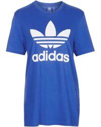 Topshop   Trefoil Tee By Adidas Originals   Lyst