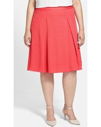 Vince Camuto A-Line Skirt - Lyst