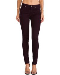 7 For All Mankind The Midrise Skinny with Contour - Lyst