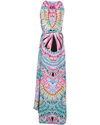 Manish Arora Long Dress multicolor - Lyst