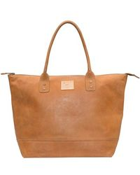 Will Leather Goods | 'getaway' Leather Tote | Lyst