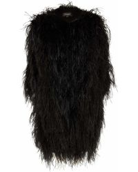 Temperley London Feathered Coat - Lyst