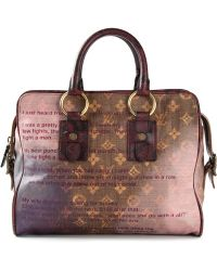 Louis Vuitton Louis Vuitton X Richard Prince Mancrazy Jokes Bag - Lyst