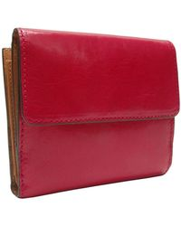 Tusk Tuscany Leather Indexer Wallet - Lyst