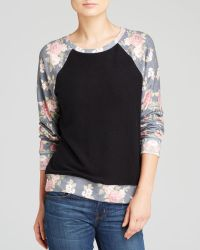 Wildfox Pullover Black Rose - Lyst