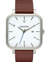 Nixon   White/hazelnut Ragnar Watch   Lyst