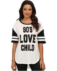 Mink Pink 90s Love Child Tee - Lyst