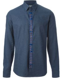 Kenzo All Hours Shirt - Lyst