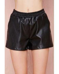 Nasty Gal Home Stretch Shorts - Lyst